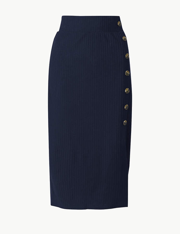 7dc6e4c81 Stretch Pull-on Pencil Skirt - ShopStyle