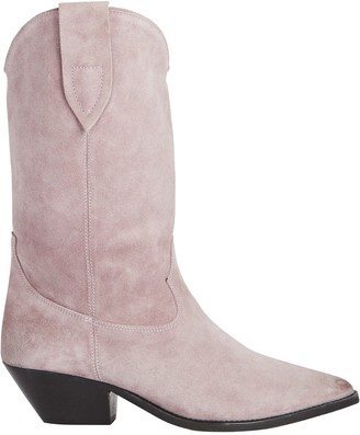 Isabel Marant Duerto Suede Western Boots