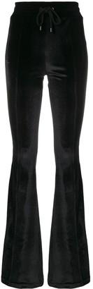 Marcelo Burlon County of Milan Velvet Flare Trousers