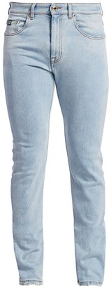 Versace Classic Five-Pocket Logo Jeans