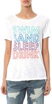 SALE Chaser Swim Sand Sleep Drink Crew Neck Tee