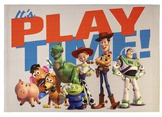 Disney Toy Story Playtime Multicolor Area Rug