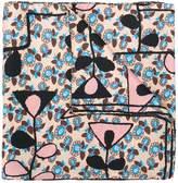 Marni foulard print scarf