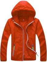 Zity Womens Lightweight Waterproof Active Outdoor Coat Cycling Running Sport Jacket US XL/Lable XXXL