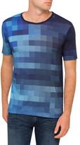 HUGO BOSS Jersey Abstract Print T Shirt