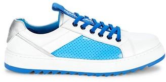 Karl Lagerfeld Paris Perforated Side Panel Sneakers