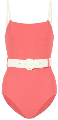 Solid & Striped The Nina Belt swimsuit