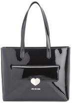 Love Moschino Women's Love Tote Heart Bag Black