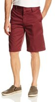 Burnside Men's Daily Flat-Front Knee-Length Chino Short