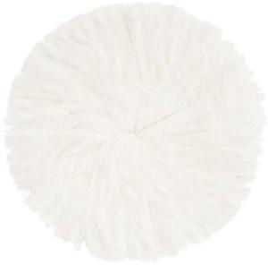 Madam Stoltz - Feather Pad - White
