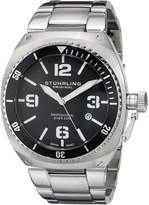 Stuhrling Original Men's 410.331113 Nautical Regatta DSV Swiss Quartz Diver Date Watch