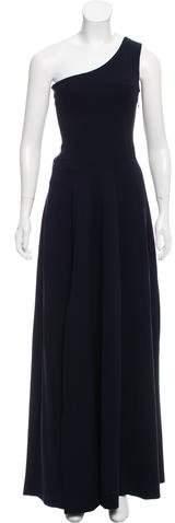 Derek Lam One-Shoulder Evening Dress