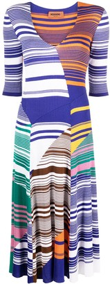 Missoni Striped Knitted Midi Dress
