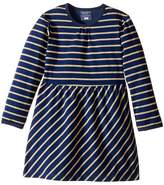 Toobydoo Go For The Gold Party Dress (Infant/Toddler)