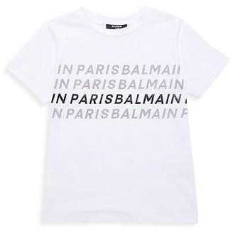 Balmain Little Kid's & Kid's Cotton T-Shirt