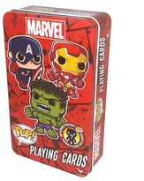 Cardinal Marvel Funko POP! Playing Cards & Bobble-Head Figure Set by