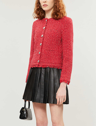 Claudie Pierlot Victorine cotton-blend tweed jacket