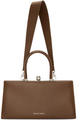 Ratio et Motus Brown Sister Bag