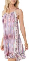 Hale Bob Print Halter Dress