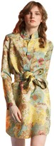 Cynthia Rowley Chinoiserie Print Shirtdress