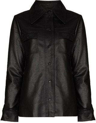 REMAIN Rosalee buttoned shirt jacket