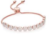 Monica Vinader Fiji Mini Button Friendship Chain Bracelet