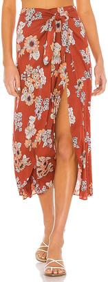 Free People Sunray Sarong Skirt