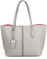 Tod's tag detail shopping bag - women - Calf Leather - One Size