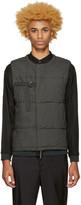 Robert Geller Grey Quilted Vest