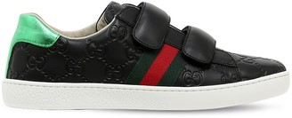 Gucci Gg Supreme Guccissima Leather Sneakers