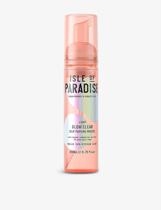 Isle of Paradise Glow Clear self-tanning mousse 200ml
