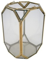 Threshold Lantern Gold Metal Small