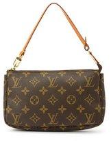 Louis Vuitton Pre-owned: brown monogram canvas pouch
