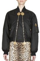Givenchy Solid Bomber Jacket