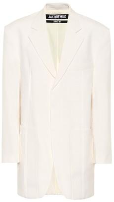 Jacquemus La Veste D'Homme wool-blend blazer