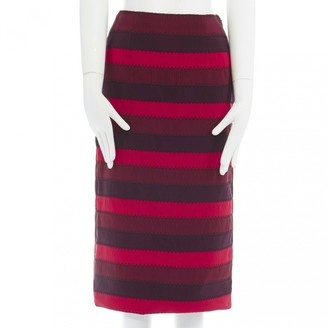Mary Katrantzou Red Skirt for Women