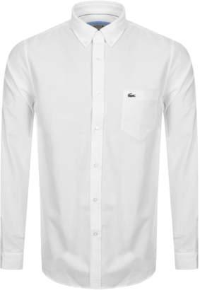 Lacoste Long Sleeved Shirt White