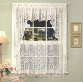 Lorraine Home Fashions Hopewell Lace Window Swags, 58-Inch by 38-Inch