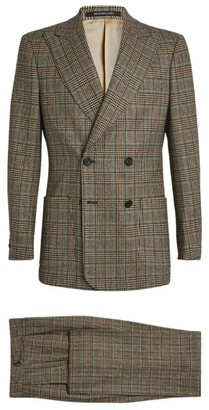 Richard James Wool Check Tailored Jacket