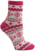 Sof Sole Women's Nordic Snowflake Women's Slipper Socks