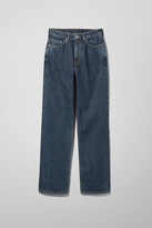 Thumbnail for your product : Weekday Rowe Extra High Straight Jeans - Blue
