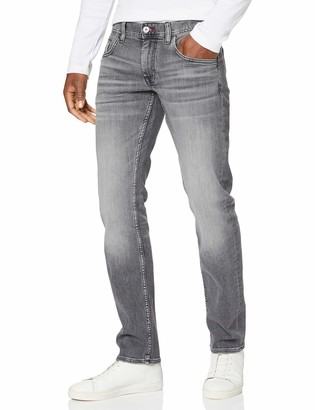 Tommy Hilfiger Men's Straight Denton Pstr Caddo Grey Loose Fit Jeans