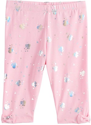 Disneyjumping Beans Disney's Minnie Mouse Toddler Girl Bow-Hem Capri Leggings by Jumping Beans
