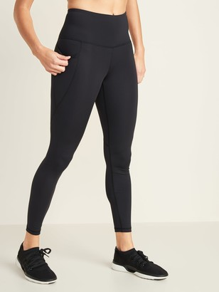 Old Navy High-Waisted Elevate Powersoft 7/8-Length Side-Pocket Leggings For Women