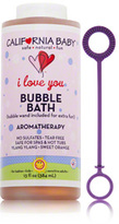 California Baby I Love You Aromatherapy Bubble Bath