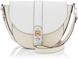 Proenza Schouler PS11 Medium Two-Tone Leather Saddle Bag