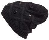 Halogen Embellished Knit Beanie