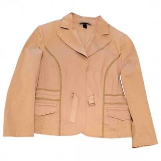 MANGO Camel Cotton Trench Coat for Women