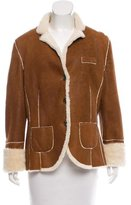 Brunello Cucinelli Shearling Long Sleeve Jacket w/ Tags