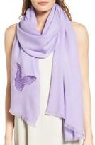 Badgley Mischka Women's Butterfly Wrap